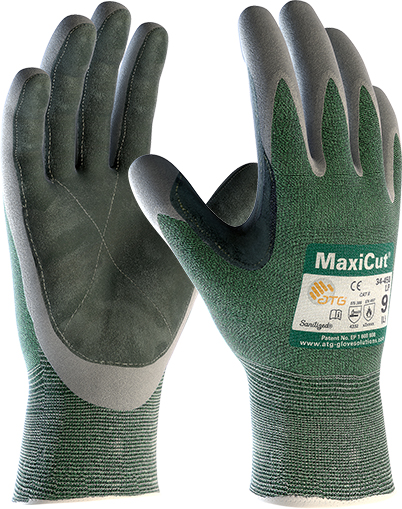 34-450LP MaxiCut® Oil™ Palm Coated with Leather Palm Image