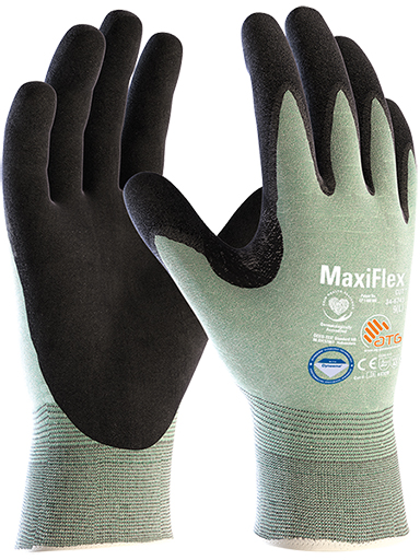 34-6743 MaxiFlex® Cut™ Palm Coated with Diamond-Tech Image