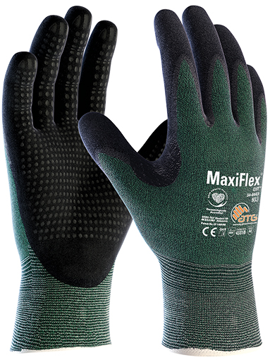 34-8443 MaxiFlex® Cut™ Palm Coated w/ Dots Image